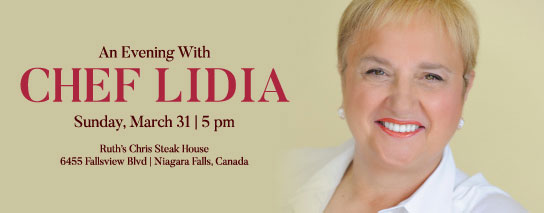 Wyndham Garden Niagara Falls Fallsview - An Evening with Chef Lidia