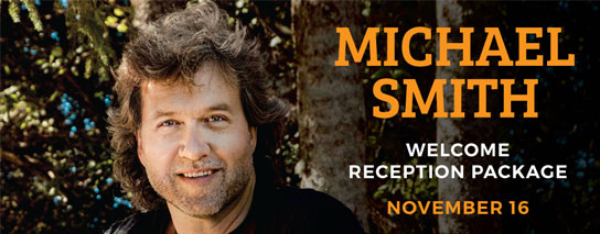 Wyndham Garden Niagara Falls Fallsview - An Evening with Michael Smith - Welcome Reception Package
