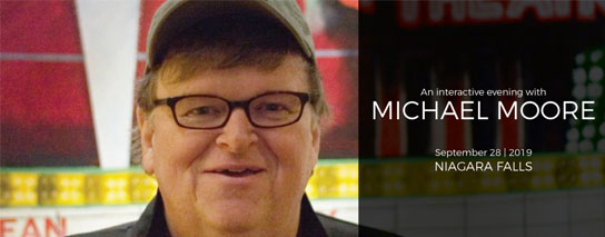 Wyndham Garden Niagara Falls Fallsview - An Interactive Evening With Michael Moore Package