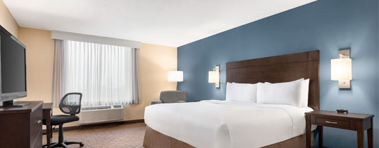 Wyndham Garden Niagara Falls Fallsview - 1 King Bed – City View