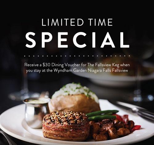 Loyalty Offer - Wyndham Garden Niagara Falls Fallsview